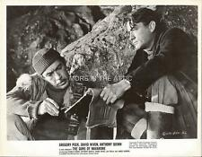 ALISTAIR MacLEAN GREGORY PECK GUNS OF NAVARONE ORIG FILM STILL #1
