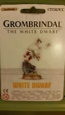 WARHAMMER AGE OF SIGMAR GROMBRINDAL THE WHITE DWARF 2016 - NEW & SEALED