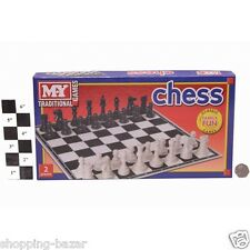 Traditional Chess Board Game for Family Childrens Kids Classic Board Game Chess