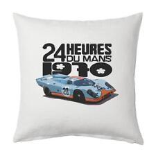 Le Mans 1970 winner PORSCHE 917 - Leinwand weiß Kissenbezug 45x45cm