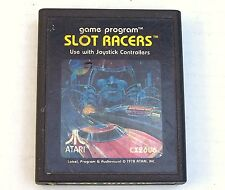 1978 Atari 2600 Slot Racers CX2606 Vintage Video Games Collectors