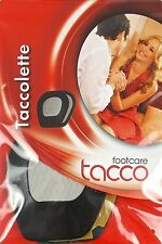 Tacco 706 Taccolette Soft Ball of Foot Cushion/ halters 3 Pairs Pack BLACK Color