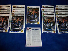 Lot of 22 - 1991-92 Upper Deck #460 Felix Potvin SR : Toronto Maple Leafs