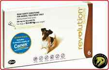 Revolution for Dogs 5.1-10kg - Brown Pack Plus FREE Canex