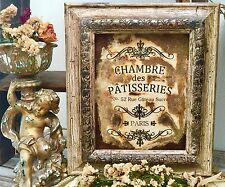 Shabby Chic Paris Picture Frame Home Decor
