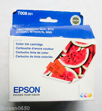 Epson Color Inkjet Cartridge T008201 - Genuine Epson Ink