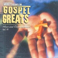 Gospel Greats, Vol. 11: Hope & Encouragement (CD, Jun-2003, Verity)