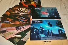 KRULL !  jeu 12 photos cinema lobby cards fantastique