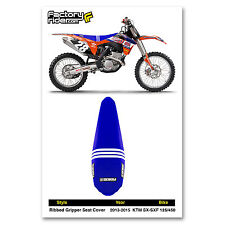 2013-2015 TLD KTM SX-SXF 125/450 SEAT COVER Ribbed Team Issue by Enjoy MFG