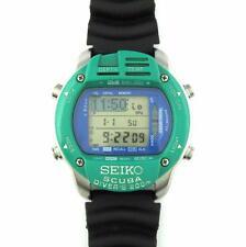 RARE Vintage Seiko M795-5A00 LCD Digital Scuba Diver's Watch / Dive Computer