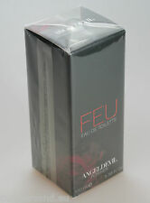 FEU by ANGELDEVIL for Her 100 ml Eau de Toilette Spray Neu / Folie