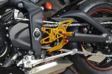 MAD MOTO TRIUMPH  DAYTONA 675 / R (2013-2014-2015) rearsets / foot pegs black