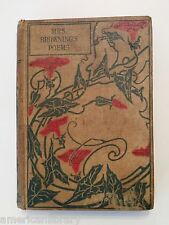 Mrs Browning's Poems The Poetical Works of Elizabeth Barrett Browning Hurst & Co