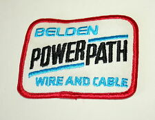 Vintage Belden Wire & Cable Company Powerpath Cloth Patch New NOS