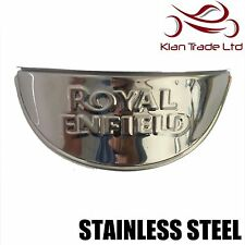 "ROYAL ENFIELD Bullet Motorcycle HEADLIGHT LAMP SHADE VISOR 7"" - Stainless Steel"