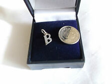 "NEW 925 STERLING SILVER INITIAL ""B"" CHARM"