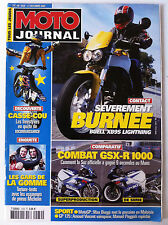 N°1539  MOTO JOURNAL; Buell XB9S/ GSX-R 1000/ Freestylers/ Pneus Michelin