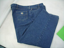 B096 CARHARTT FRC (FIRE RESISTANT CLOTHING) JEANS   SIZE 50 X 30  MINT CONDITION