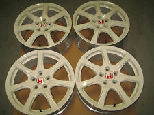 06 01 HONDA CIVIC FD2 K20A TYPE R GENUINE ENKEI MAG WHEEL JDM CIVIC FD2 WHEELS