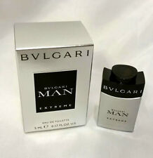 BVLGARI MAN EXTREME 5ml - 0.17oz EDT MINI Splash Non-Spray NEW IN BOX (C72
