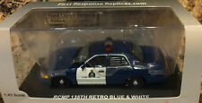 ROYAL CANADIAN MOUNTED POLICE 2012 FORD 135 ANNIVERSARY POLICE CRUISER BLUE