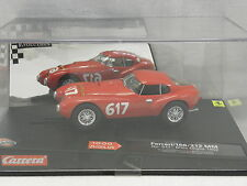 Carrera 25711 Evolution Slot Car Ferrari 166/212 MM Uovo Mille Miglia 1952 N°617