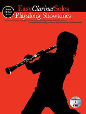Solo Debut: Playalong Showtunes - Easy Clarinet Solos, Music Sales, New Book