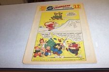 COMICS THE OVERSEAS WEEKLY 25 DECEMBER 1960 BEETLE BAILEY THE KATZENJAMMER KIDS