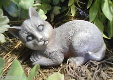 Latex laying cat kitten kitty Mold Plaster concrete mould
