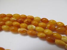 LONG ANTIQUE NATURAL BALTIC AMBER NECKLACE