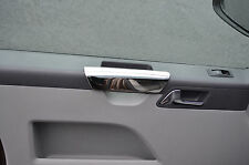 CHROME INNER DOOR HANDLE DASH TRIM SET COVERS FOR VW VOLKSWAGEN T5 CARAVELLE