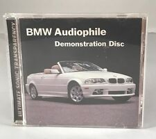 BMW Audiophile Demonstration Disc OEM Chesky Brothers Records JAZZ CD E46 M3 M5