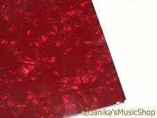 RED Pearloid Pearl scratch plate pick guard materiale guitar pickguard 29x44cm