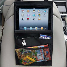Auto Car Seat Back Table Multi-Pocket Storage Bag Organizer PC Stand iPad Holder