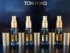 TOM FORD TOBACCO VANILLE+OUD WOOD+TUSCAN LEATHER+NOIR DE NOIR 10ml(=40ml)