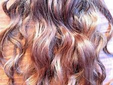 """20"""" (9 Clips) Auburn Real Virgin Indian Remy Human Hair Clip In Extensions"""