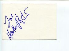 Heather Paige Kent That's Life Jenny Stark Raving Mad Signed Autograph