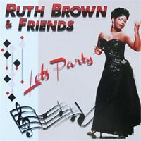 RUTH BROWN Let's Party 2-CD 1950s Rhythm & Blues Rock 'n' Roll NEW Double CD