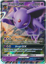 x1 Espeon GX - 61/149 - Ultra Rare Pokemon Sun & Moon Base Set M/NM