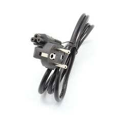 3-Prong AC Power Cord EU Adapter lead For Laptop HP Lenovo Sony Toshia DELL