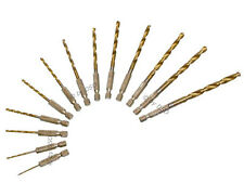 Am Tech 13 pc Titanium Coated HSS Drill Bit Set