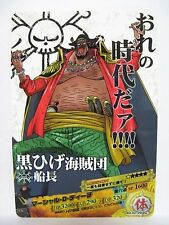 One Piece AR Carddass 02-29 C Marshall D. Teach Blackbeard Pirates