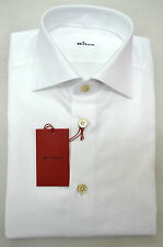 NEW 2016 KITON SHIRT 100% COTTON  15.5 US 39 EU KS001