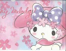 Sanrio My Melody Folder Portfolio Side Open Cherry Blossoms Bow