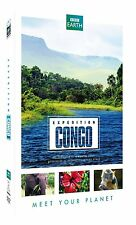 BBC EARTH : EXPEDITION CONGO  -  DVD - PAL Region 2 - New