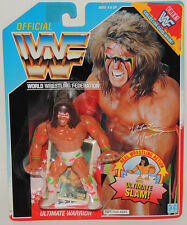 WWF WWE Hasbro ULTIMATE WARRIOR Series 2 Collector Card SS Wrestling Figure MOC