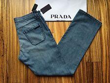 PRADA MILANO Classic Fit Jeans Stonewashed blau Gr.W36  NEU OVP