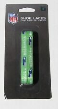 "Seattle Seahawks Team Logo Colors 54"" Shoe Laces One Pair Lace Ups NFL"