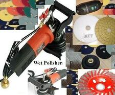 Wet Granite Marble Concrete Sander Diamond grinding cup polishing pad glaze buff