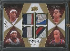 2007-08 Carter Harris Williams Jefferson UD Exquisite Masterpiece QUAD PATCH 1/1